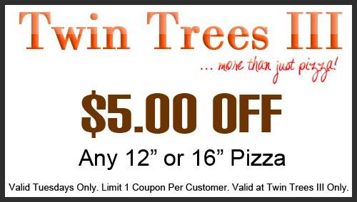 Twin Trees III Coupon North Syracuse NY